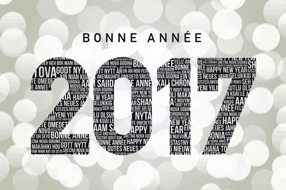 Et une bonne année 2017 :)