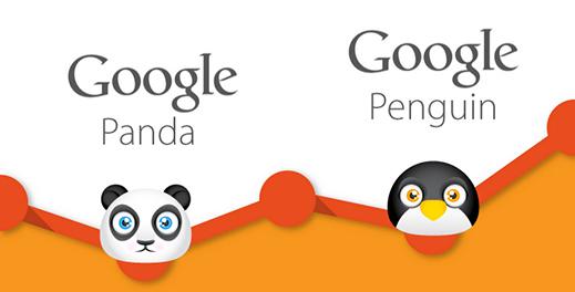 Google Panda et Pingouin