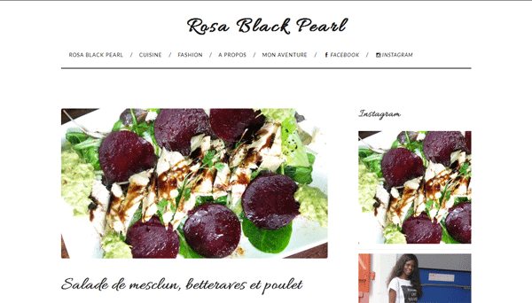 Rosa Black Pearl | Blog de mode sur la côte Basque
