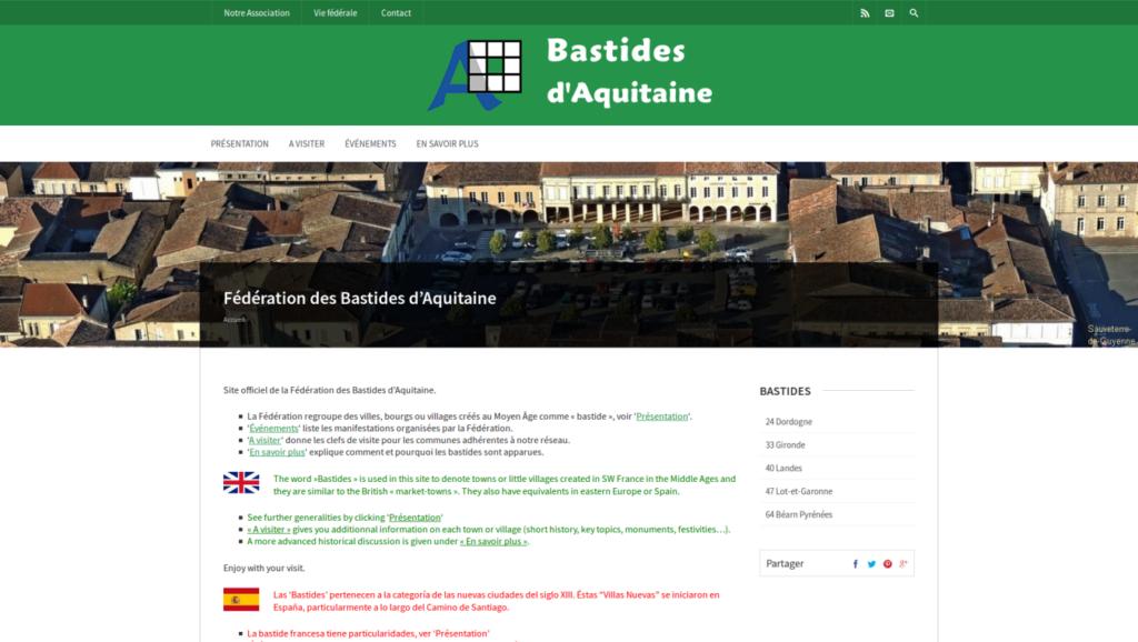 BastidesAquitaine.org