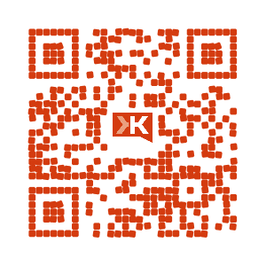QRCode Klout TiPi Com and Web